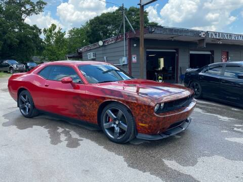 2011 Dodge Challenger for sale at Texas Luxury Auto in Houston TX