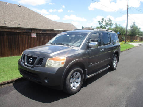 2008 Nissan Armada for sale at BUZZZ MOTORS in Moore OK