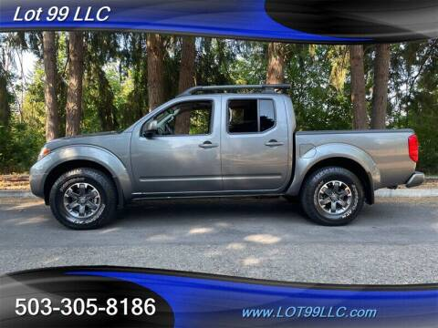 2017 Nissan Frontier for sale at LOT 99 LLC in Milwaukie OR