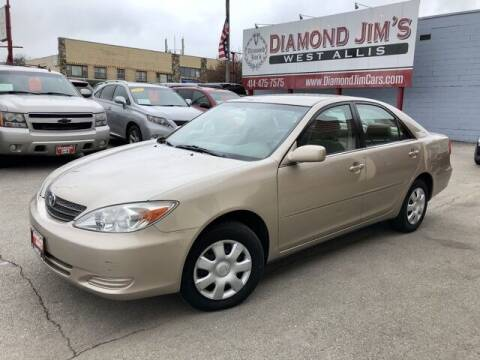 2004 Toyota Camry for sale at Diamond Jim's West Allis in West Allis WI
