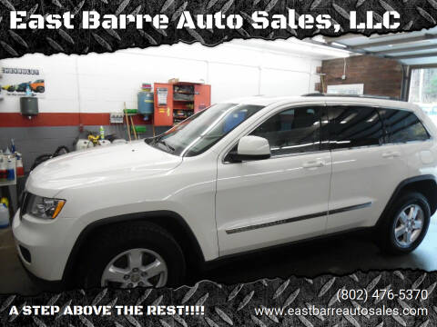 2012 Jeep Grand Cherokee for sale at East Barre Auto Sales, LLC in East Barre VT