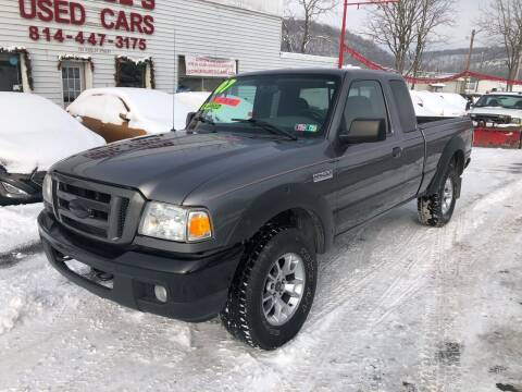 2007 Ford Ranger for sale at George's Used Cars Inc in Orbisonia PA