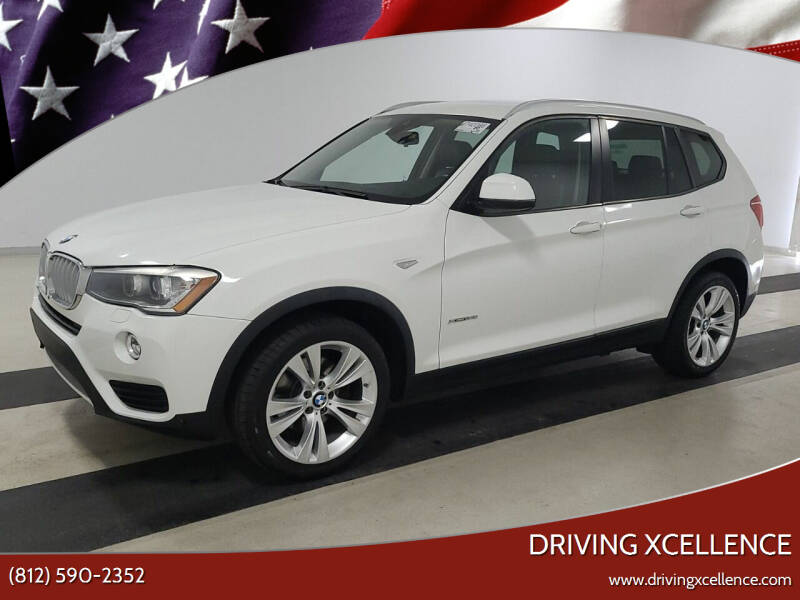 2015 BMW X3 for sale at Driving Xcellence in Jeffersonville IN