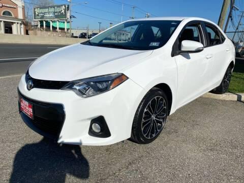 2014 Toyota Corolla for sale at STATE AUTO SALES in Lodi NJ