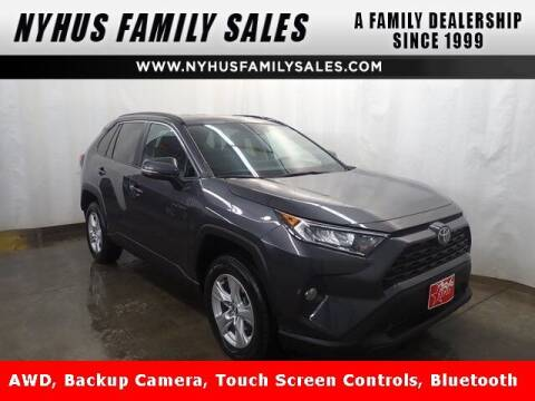 2020 Toyota RAV4 for sale at Nyhus Family Sales in Perham MN