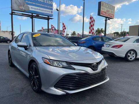2018 Toyota Camry for sale at MACHADO AUTO SALES in Miami FL