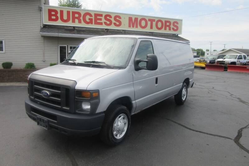 2014 Ford E-Series Cargo for sale at Burgess Motors Inc in Michigan City IN