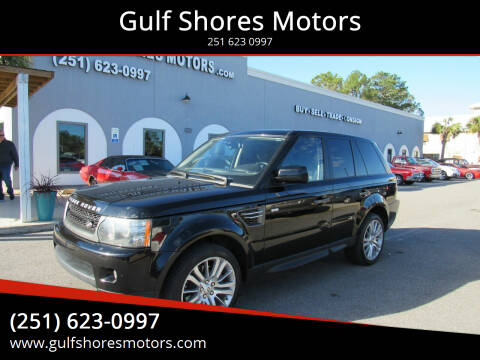 2010 Land Rover Range Rover Sport for sale at Gulf Shores Motors in Gulf Shores AL