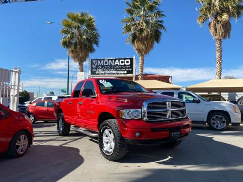 2004 Dodge Ram Pickup 1500 for sale at Monaco Auto Center LLC in El Paso TX