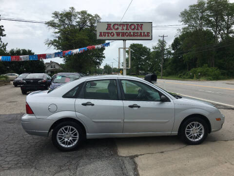 2007 Ford Focus for sale at Action Auto Wholesale in Painesville OH