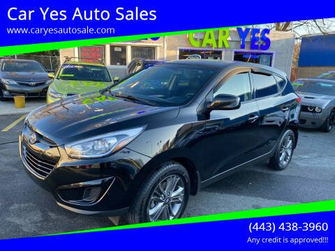 2015 Hyundai Tucson for sale at Car Yes Auto Sales in Baltimore MD
