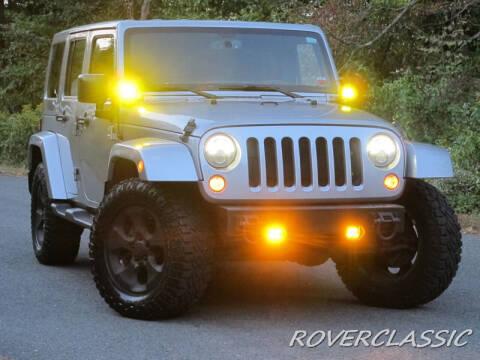 2013 Jeep Wrangler Unlimited for sale at Isuzu Classic in Cream Ridge NJ