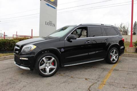 2016 Mercedes-Benz GL-Class for sale at Peninsula Motor Vehicle Group in Oakville NY