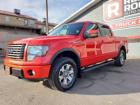 2012 Ford F-150 for sale at Red Rock Auto Sales in Saint George UT