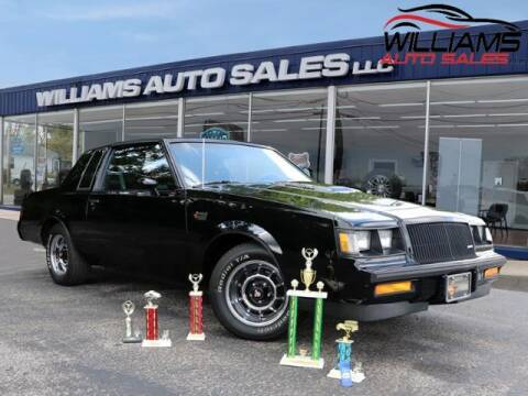 1987 Buick Regal for sale at Williams Auto Sales, LLC in Cookeville TN