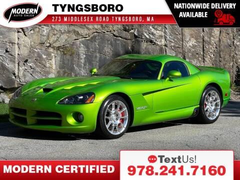 2010 Dodge Viper for sale at Modern Auto Sales in Tyngsboro MA