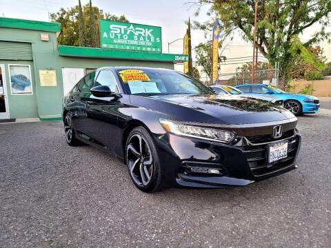 2020 Honda Accord for sale at Stark Auto Sales in Modesto CA