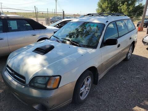 2000 Subaru Outback for sale at PYRAMID MOTORS - Pueblo Lot in Pueblo CO