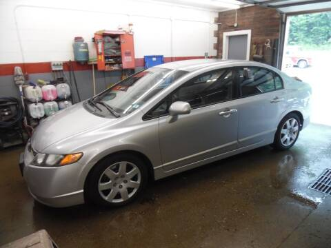 2008 Honda Civic for sale at East Barre Auto Sales, LLC in East Barre VT