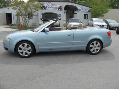 2004 Audi A4 for sale at Pure 1 Auto in New Bern NC