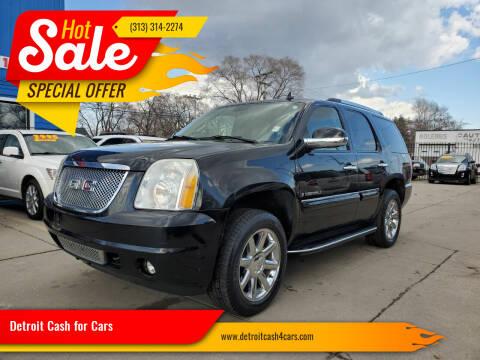 2007 GMC Yukon for sale at Detroit Cash for Cars in Warren MI