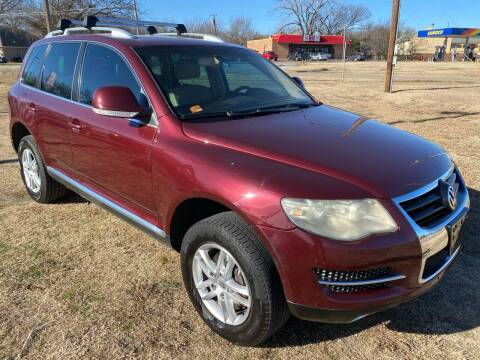2008 Volkswagen Touareg 2 for sale at Texas Select Autos LLC in Mckinney TX