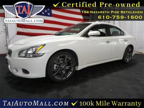 2014 Nissan Maxima for sale at Taj Auto Mall in Bethlehem PA
