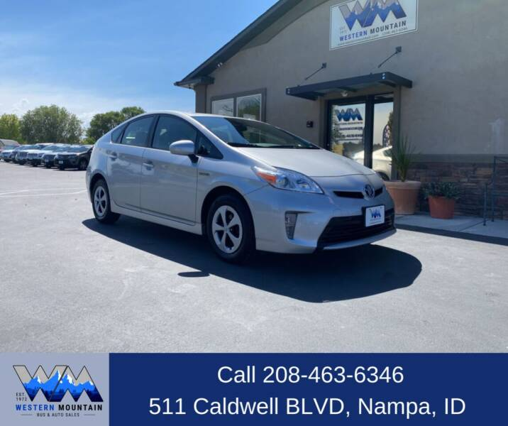 2015 Toyota Prius for sale at Western Mountain Bus & Auto Sales in Nampa ID