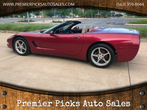 2001 Chevrolet Corvette for sale at Premier Picks Auto Sales in Bettendorf IA
