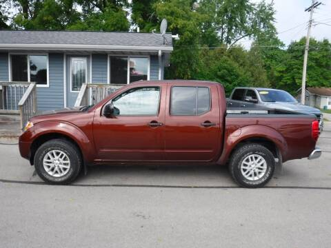 2017 Nissan Frontier for sale at Dave's Car Corner in Hartford City IN