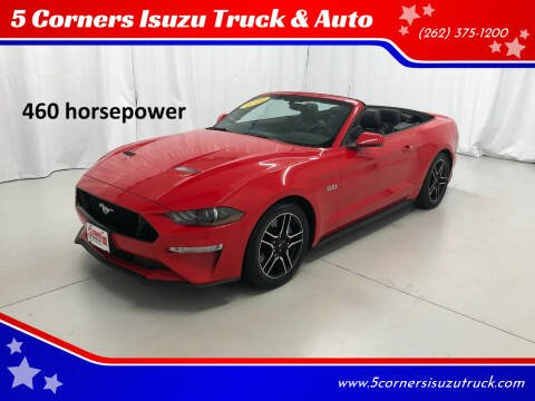 2019 Ford Mustang for sale at 5 Corners Isuzu Truck & Auto in Cedarburg WI