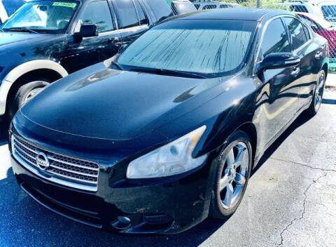 2009 Nissan Maxima for sale at RD Motors, Inc in Charlotte NC