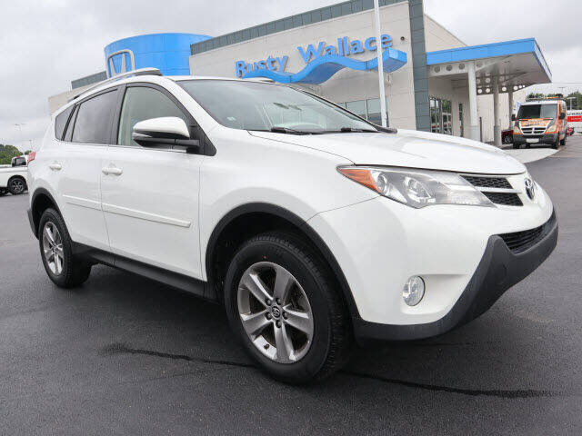 2015 Toyota RAV4 for sale at RUSTY WALLACE HONDA in Knoxville TN