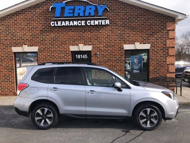 2018 Subaru Forester for sale at Terry Clearance Center in Lynchburg VA
