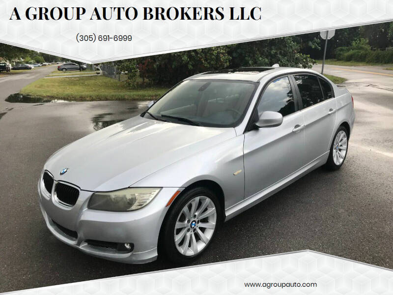 2011 BMW 3 Series for sale at A Group Auto Brokers LLc in Opa-Locka FL
