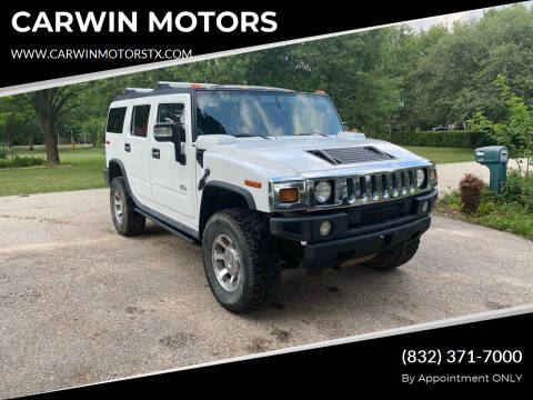 2006 HUMMER H2 for sale at CARWIN MOTORS in Katy TX