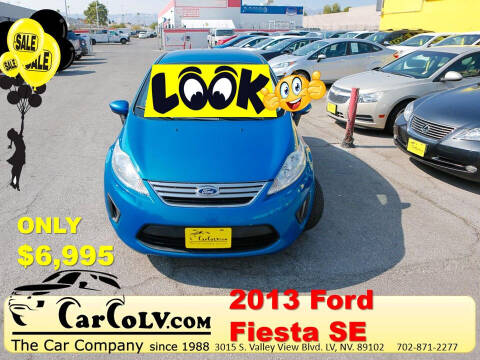 2013 Ford Fiesta for sale at The Car Company in Las Vegas NV