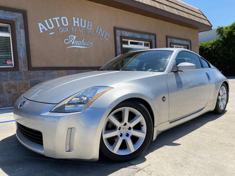 2003 Nissan 350Z for sale at Auto Hub, Inc. in Anaheim CA