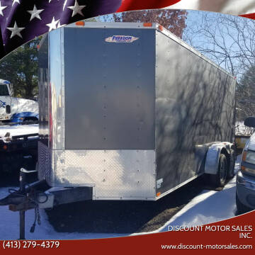 2015 Freedom 7X16 TA2 for sale at Discount Motor Sales inc. in Ludlow MA