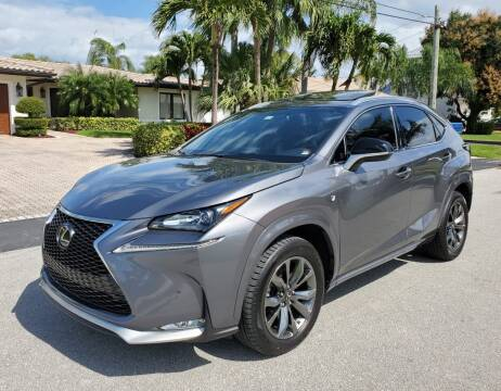 2017 Lexus NX 200t for sale at FIRST FLORIDA MOTOR SPORTS in Pompano Beach FL