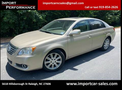 2008 Toyota Avalon for sale at Import Performance Sales in Raleigh NC