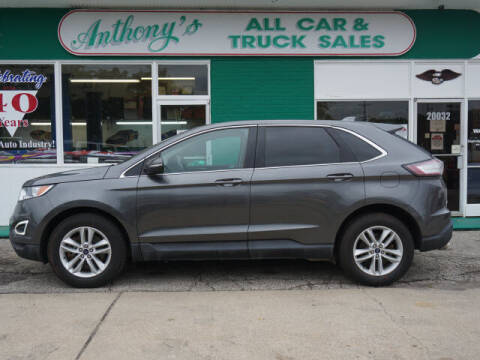 2016 Ford Edge for sale at Anthony's All Cars & Truck Sales in Dearborn Heights MI