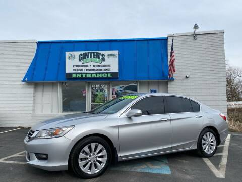 2014 Honda Accord for sale at Ginters Auto Sales in Camp Hill PA