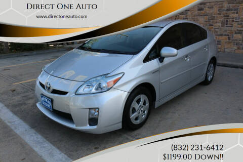 2010 Toyota Prius for sale at Direct One Auto in Houston TX