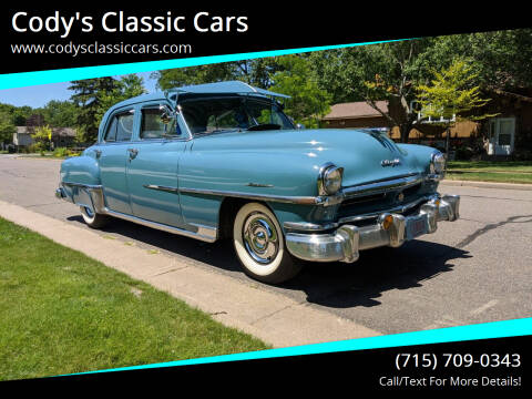 1951 Chrysler Windsor for sale at Cody's Classic Cars in Stanley WI