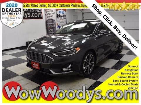 2020 Ford Fusion for sale at WOODY'S AUTOMOTIVE GROUP in Chillicothe MO