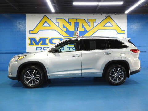 2018 Toyota Highlander for sale at ANNA MOTORS, INC. in Detroit MI