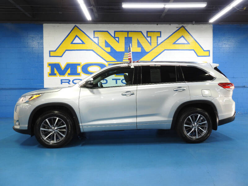2018 Toyota Highlander for sale at ANNA MOTORS, INC. in Detroit MI