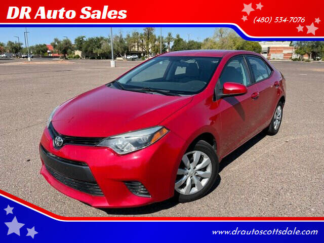 2016 Toyota Corolla for sale at DR Auto Sales in Scottsdale AZ