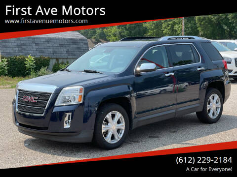 2017 GMC Terrain for sale at First Ave Motors in Shakopee MN